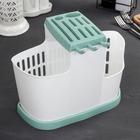 Органайзер для кухни, цвет фисташковый - Фото 2