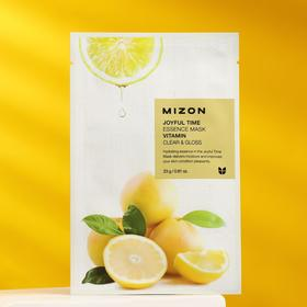 Тканевая маска для лица с витамином С MIZON Joyful Time Essence Mask Vitamin C, 23 г