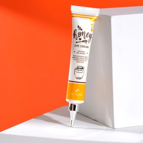 Питательный крем для век с экстрактом меда 3W CLINIC Honey Eye Cream, 40 мл
