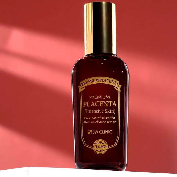 Омолаживающий тонер для лица с экстрактом плаценты 3W CLINIC Premium Placenta Intensive Skin, 145 мл