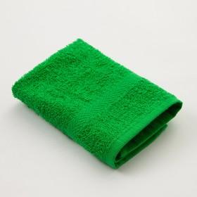 Полотенце махровое «Экономь и Я» 30х30 см, цвет зелёный Ош