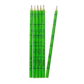 Набор 6 штук карандаш чернографитный дизайн Koh-I-Noor 1736 Scala, 2B (2474684)