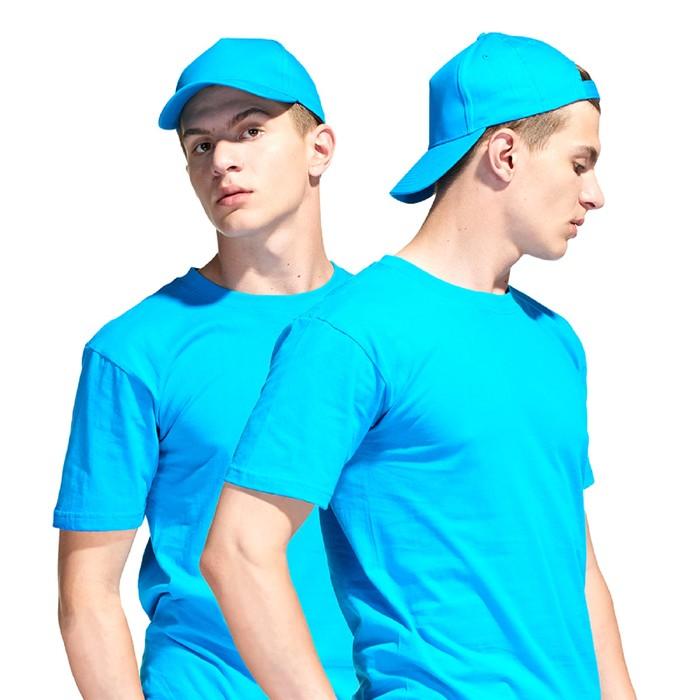 Бейсболка, размер 56-58, цвет бирюзовый