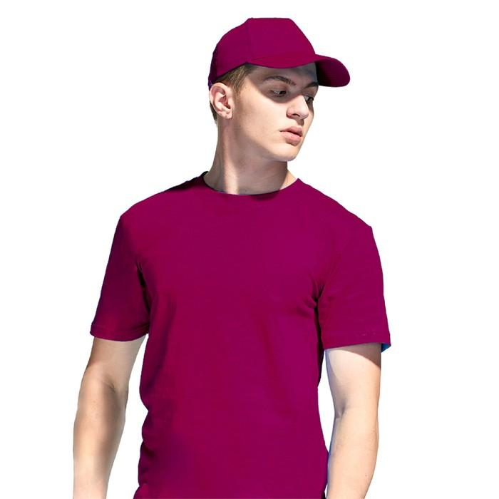 Бейсболка, размер 56-58, цвет бордовый
