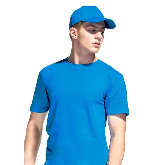 Бейсболка, размер 56-58, цвет лазурный