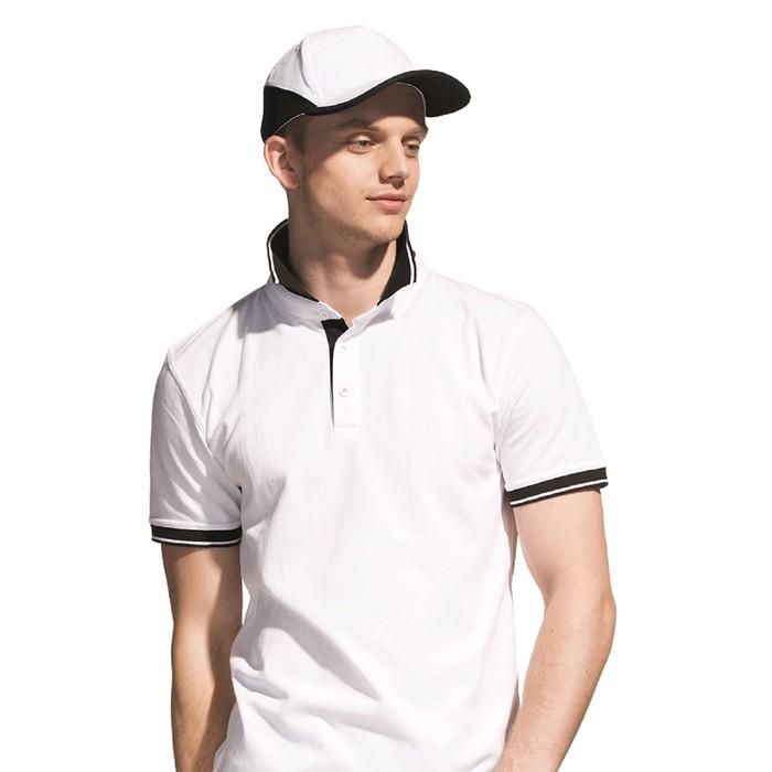 Бейсболка, размер 56-58, цвет белый