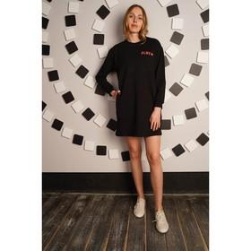 Платье женское Play, цвет чёрный, размер 46 Ош