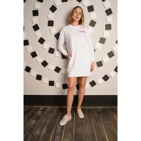 Платье женское Play, цвет белый, размер 54 Ош