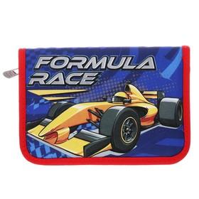 Пенал 1 секция откидная планка 130*205 ткань Yes HP-03 мал Formula Race 532147