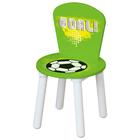 Стул  для комплекта детской мебели Polini Kids Fun 185 S, «Футбол», цвет зеленый