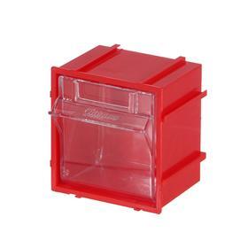 Короб откидной Стелла Single - 101 красный/прозрачный Ош