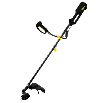 Триммер электрический Huter GET-1500B, 1500 Вт, d=2 мм, леска/нож, разборная штанга - Фото 1