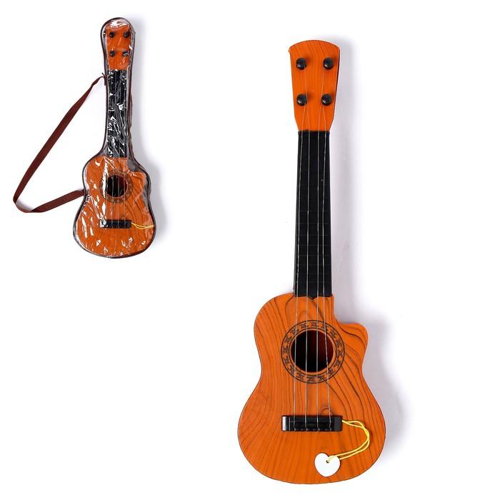 Игрушка музыкальная Классическая гитара, 4 струны