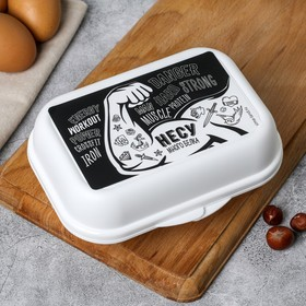Контейнер для яиц «Несу много белка», 6 ячеек Ош