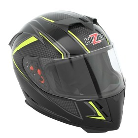 Шлем HIZER J5311, размер L, черный/серый/желтый Ош