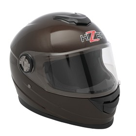 Шлем HIZER B565, размер XL, коричневый Ош