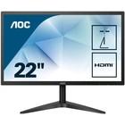 "Монитор AOC Value Line 22B1H(00/01) 21.5"", TN, 1920x1080, 60Гц, 5мс, VGA, HDMI, чёрный"