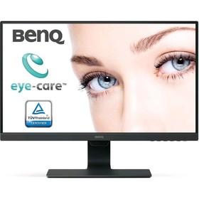 """Монитор Benq GW2480E 23.8"""", IPS, 1920x1080, 60Гц, 5мс, VGA, HDMI, DPort, чёрный"""