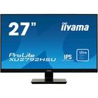 """Монитор Iiyama ProLite XU2792HSU-B1 27"""", IPS, 1920x1080, 75Гц, 4мс,VGA,HDMI, DPort,чёрный"""