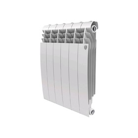 Радиатор алюминиевый Royal Thermo Biliner Alum 500, 6 секций