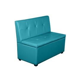 Кухонный диван 'Уют-1', 1000x550x830, бирюзовый Ош
