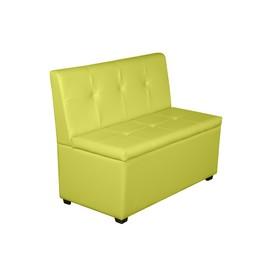 Кухонный диван 'Уют-1', 1000x550x830, лайм Ош