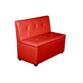 Кухонный диван 'Уют-1', 1000x550x830, красный Ош