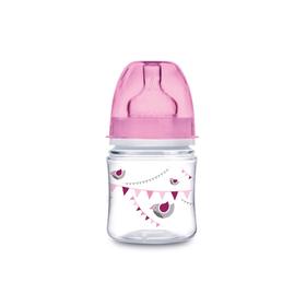Бутылочка для кормления Canpol babies EasyStart, In the clouds, от 0 месяцев, цвет розовый, 120 мл