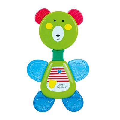 Погремушка Canpol babies «Мишка», с водным прорезывателем, цвет МИКС - Фото 1