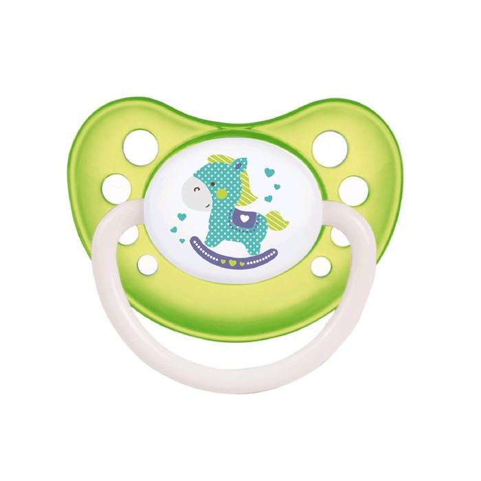 Пустышка латексная Canpol babies Toys, анатомическая, от 6-18 месяцев, цвет МИКС