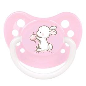 Пустышка силиконовая Canpol babies Little Cuties, ортодонтическая, от 0-6 месяцев, цвет МИКС