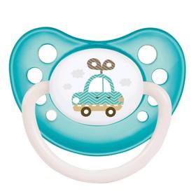 Пустышка силиконовая Canpol babies Toys, ортодонтическая, от 6-18 месяцев, цвет бирюзовый