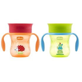 Чашка-поильник Chicco Perfect Cup, от 12 месяцев, цвет МИКС, 200 мл