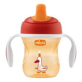 Чашка-поильник Chicco Training Cup, от 6 месяцев, цвет МИКС, 200 мл