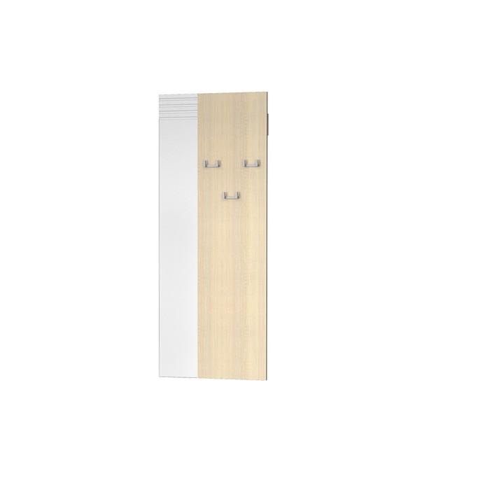 Вешалка Веста, 550х16х1100, Дуб сонома/Белый МДФ