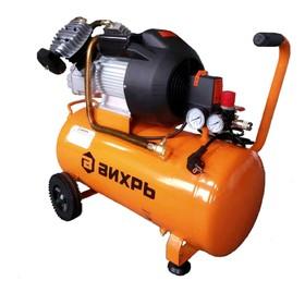 """Компрессор """"Вихрь"""" КМП-400/100, масляный, 2.5 кВт, 400 л/мин, 8 бар, 100 л"""
