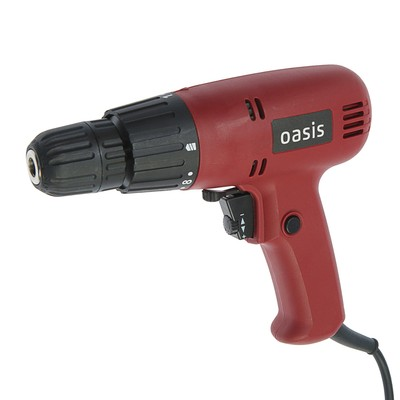 Дрель-шуруповерт Oasis DS-40, 400 Вт, 800 об/мин, 20 Нм, БЗП - Фото 1