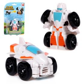 Робот «Истребитель», трансформируется, мгновенная трансформация
