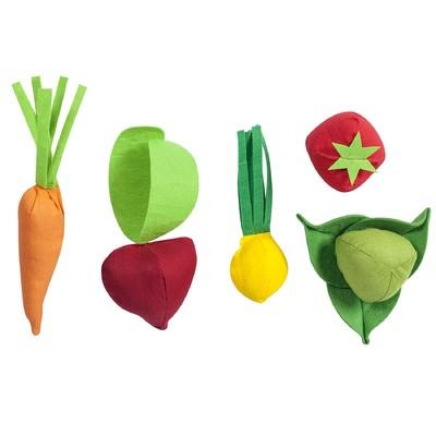 Набор овощей, 5 предметов, с карточками - Фото 1