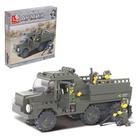 Конструктор «Военный грузовик», 230 деталей