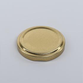 Крышка металлическая «Елабуга», ТО-58 мм, лакированная, d=5,8 см, твист-офф, цвет золотистый Ош
