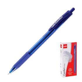 """Ручка шариковая автомат Cello """"Comfort"""" узел 0,7мм, чернила синие грип 6374"""