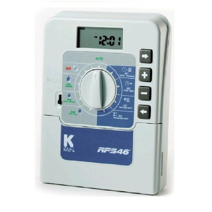 Блок управления K-Rain RPS 46, 4 зоны, внутренний 220в