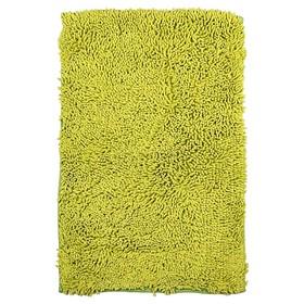 Коврик для ванной комнаты IDDIS green leaf MID181C, 50х80 см, хлопок