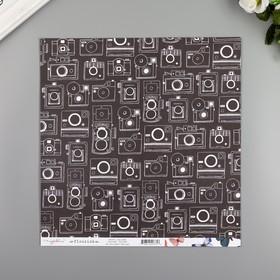 """Бумага для скрапбукинга Crate Paper """"CALLIOPE"""""""" 30.5х30.5 см, 190 гр/м2"""