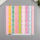 """Бумага для скрапбукинга Pink Paislee """"Horizon8"""" 30.5х30.5 см, 190 гр/м2"""