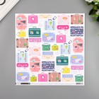 """Бумага для скрапбукинга Pink Paislee """"Horizon17"""" 30.5х30.5 см, 190 гр/м2"""