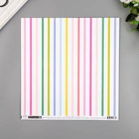 """Бумага для скрапбукинга Pink Paislee """"Horizon19"""" 30.5х30.5 см, 190 гр/м2"""