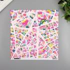 """Бумага для скрапбукинга Pink Paislee """"Horizon5"""" 30.5х30.5 см, 190 гр/м2"""