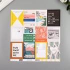 """Бумага для скрапбукинга Crate Paper """"Photo op"""" 30.5х30.5 см, 190 гр/м2"""